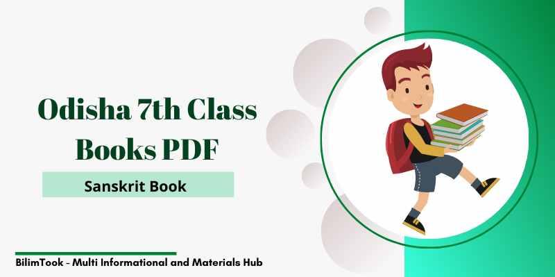 Odisha Class 7th Sanskrit Book PDF Download 2021