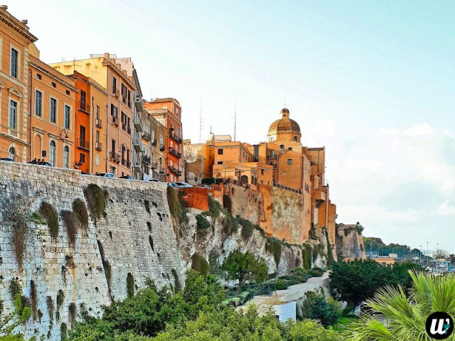 Castello landscape view, Cagliari | Sardinia Italy | wayamaya