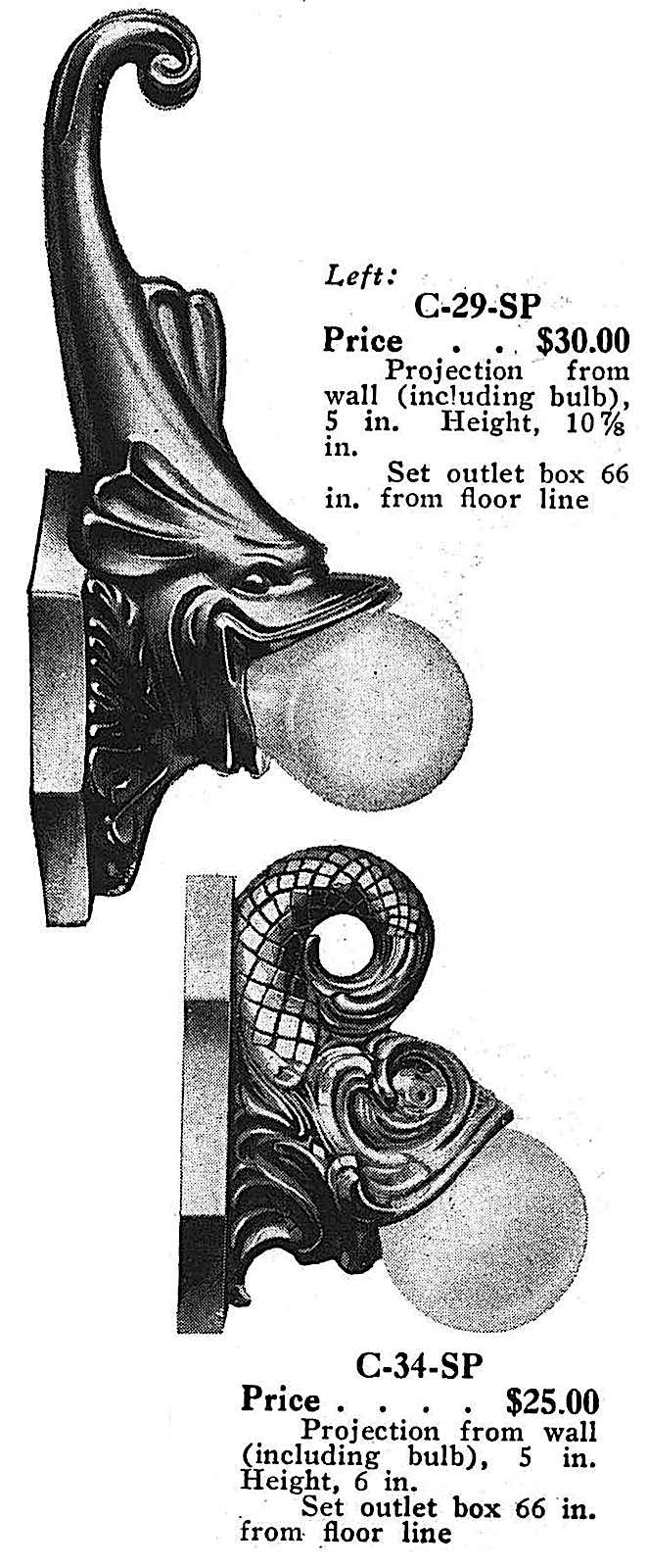 1931 bathroom light fixtures, grotesque, an illustration