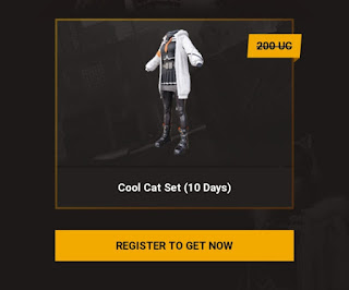 Get PUBG Cool Cat Skin For Free