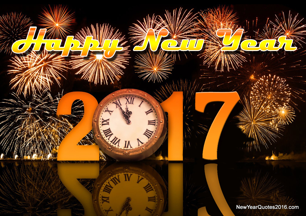 Happy New Year 2017 SMS Wishes Message Quotes Images Wallpapers ...