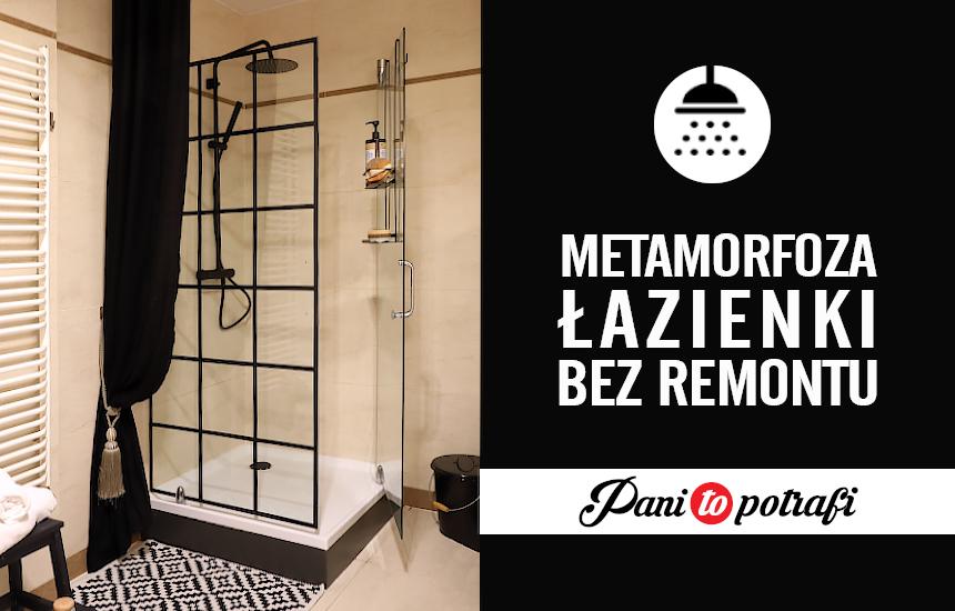 loftowy prysznic