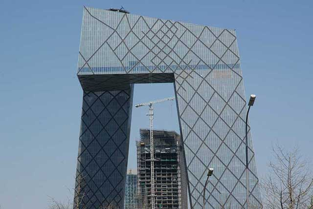 CCTV Building, Beijing, China.