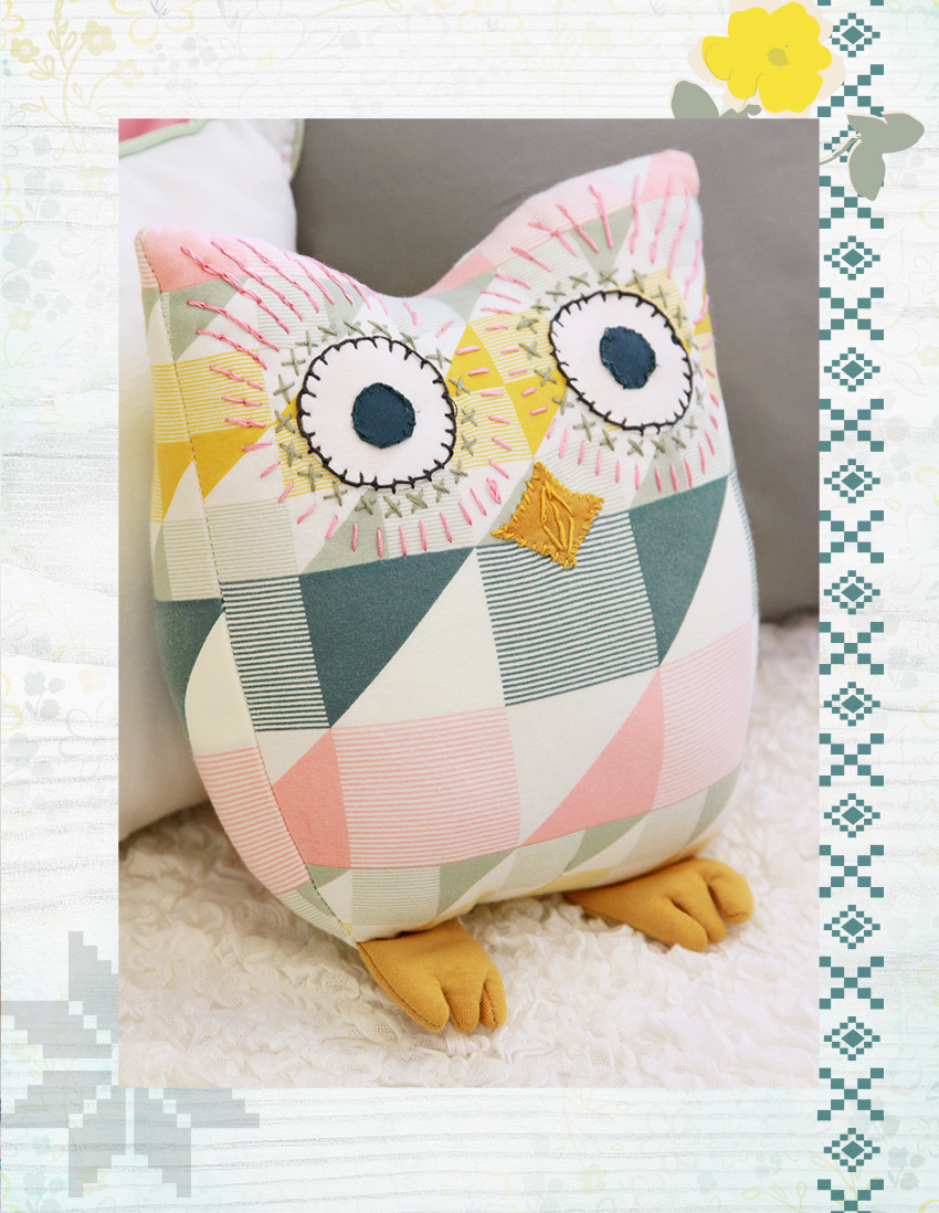 http://shop.gingercake.org/product/lola-the-owl-pillow-pdf-pattern