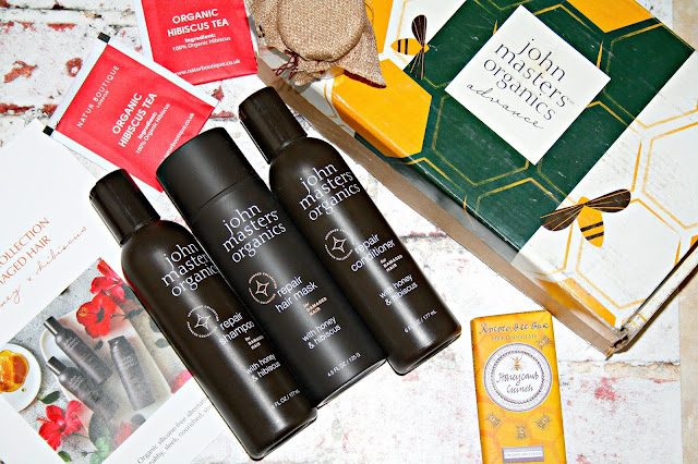 John Masters Organics - New Advanced Collection for Damaged Hair