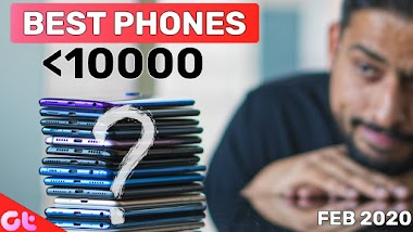 TOP 6 BEST PHONES UNDER 10000 In FEB 2020 | Sabse Best Kaunsa?