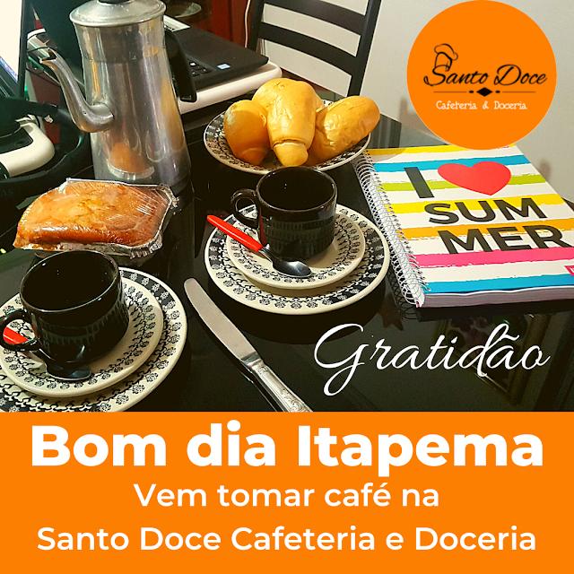 Onde tomar café em Itapema?
