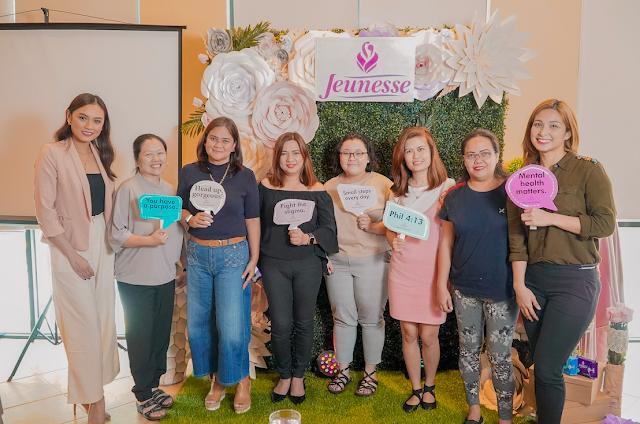 Jeunesse Anion Liners, Jeunesse Anion Sanitary Pads, Mental Health PH, Press Release,