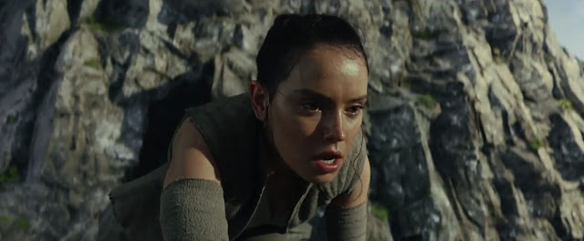 Rey (Daisy Ridley) dans Star Wars 8, les derniers jedi