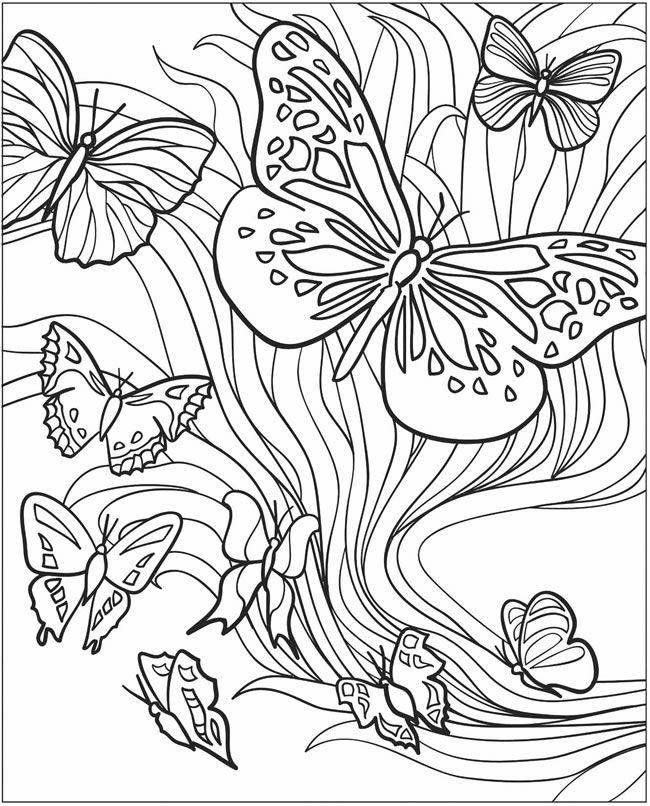 40 Desenhos Para Adultos Desenhos Com Detalhes Para Colorir