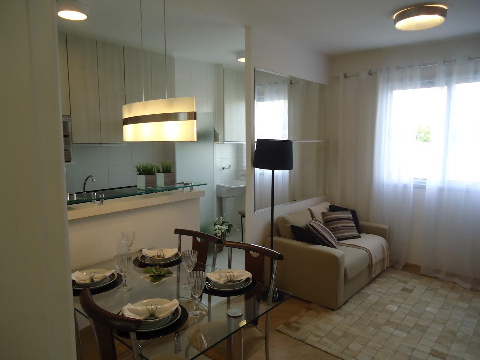 Decoraao Sala Pequena De Apartamento Apartamento Decorado M Butant  -> Papel De Parede Sala Mrv