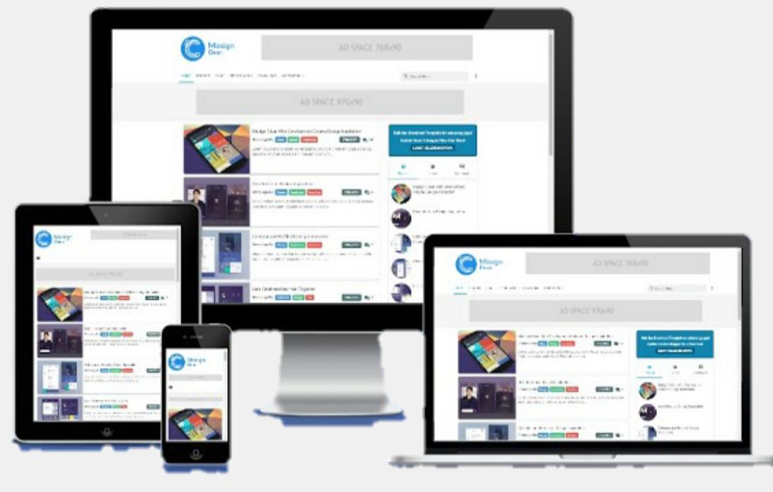 Download Template Blogger Masign Clean Premium 4.1 Disqus