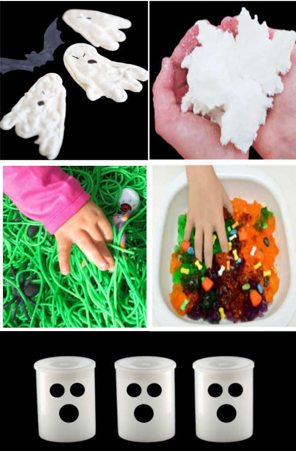 50+ Halloween play recipes for kids to make this fall #halloween #halloweenactivities #playrecipesforkids #growingajeweledrose #activitiesforkids