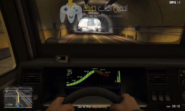 تحميل لعبة جاتا 5 للكمبيوتر برابط مباشر بحجم صغير