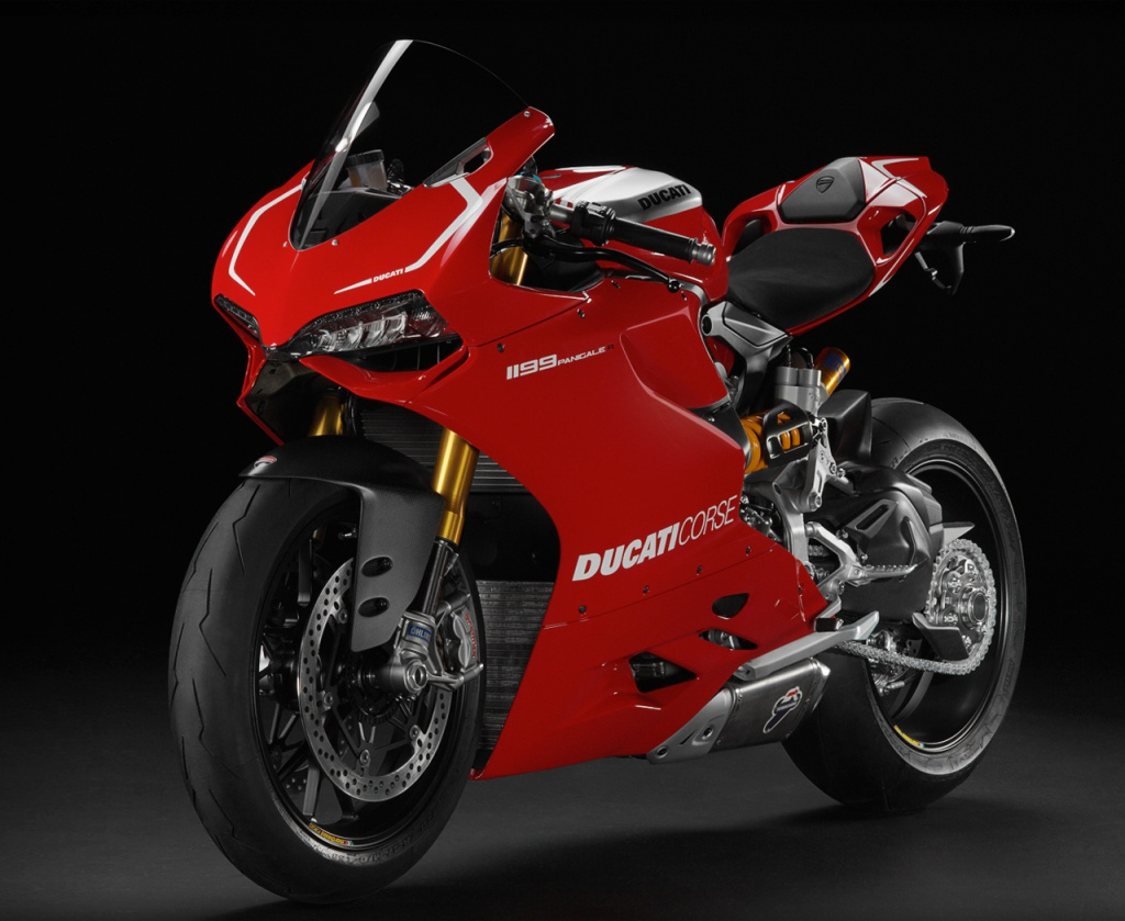 The 2013 Ducati Superbike 1199 Panigale