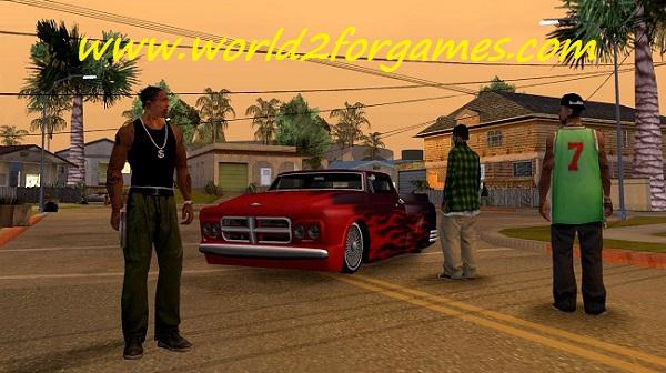تحميل لعبة Grand Theft Auto San Andreas للكمبيوتر