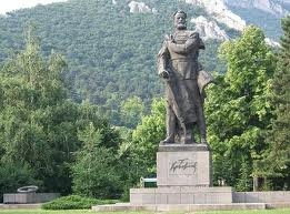 The monument of Hristo Botev