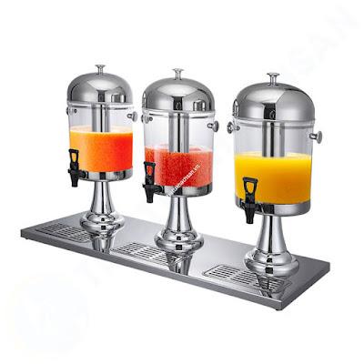 Bình đựng nước buffet giá rẻ 3 ngăn 24 lít BC2201-R3