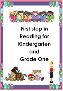 First Step in Reading in Kinder and Grade 1