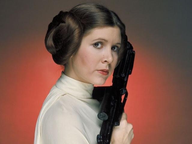 Carrie Fisher, a eterna princesa Leia de Star Wars, morre aos 60 anos