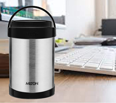 Milton Royal 4 Insulated Stainless Steel Tiffin Box to Enjoy Hot and Fresh Food After Hours