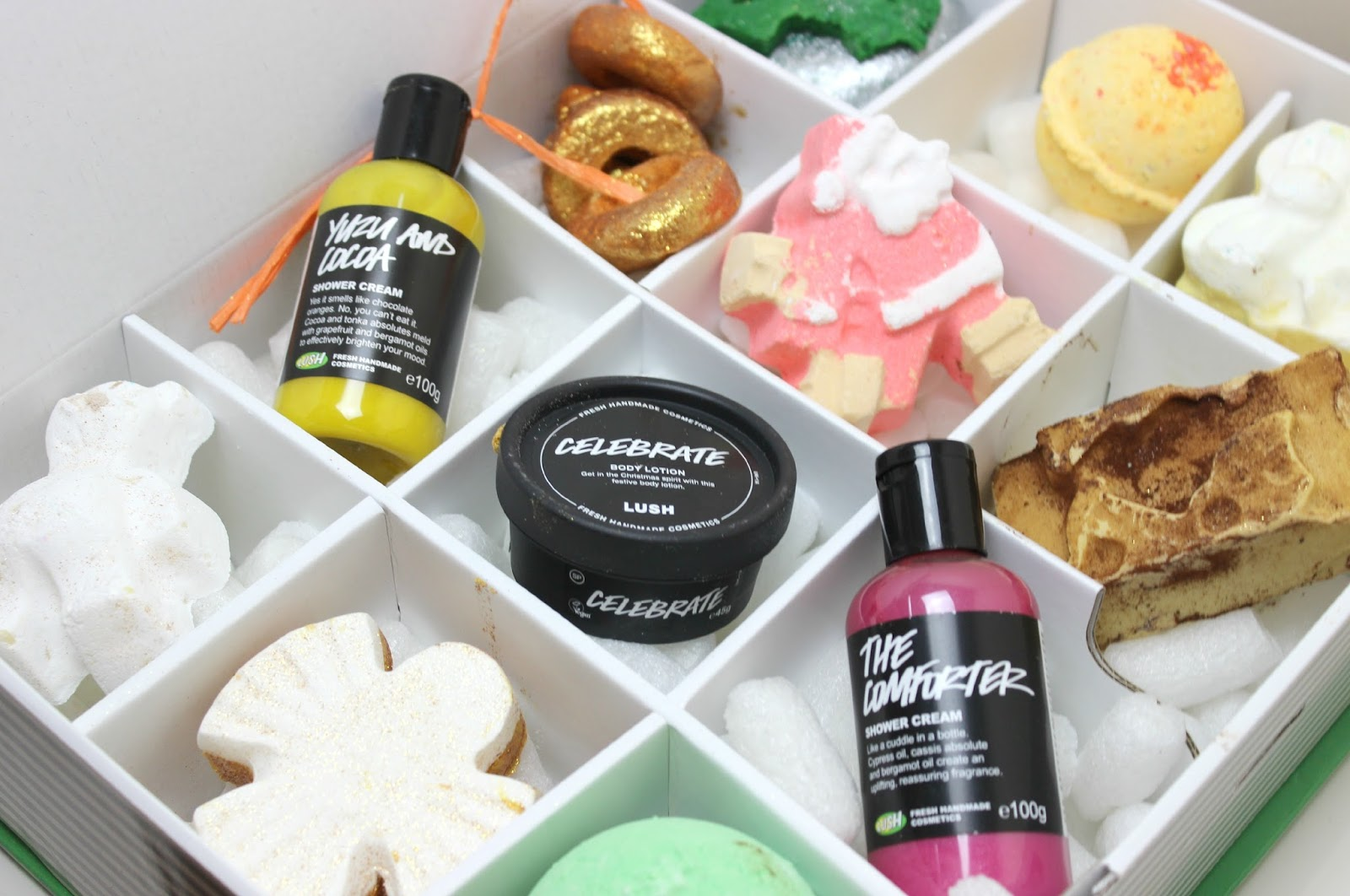 a picture of lush 12 days of christmas gift box