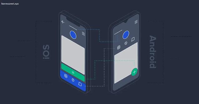 تصميم Android و iOS