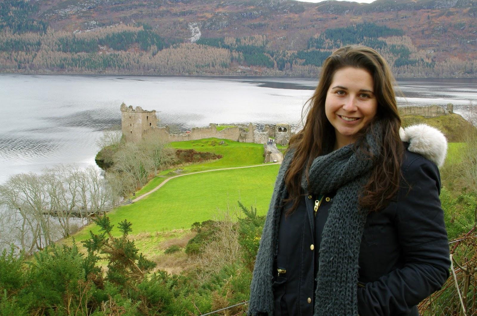 Scottish Highlands Urquhart Castle