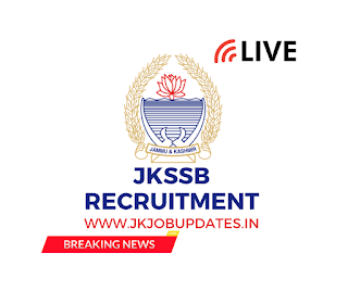 Update! JKSSB Accounts Assistant Posts and Class IV posts.