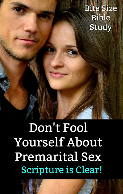 This short, concise Bible study explains why premarital sex is clearly forbidden in Scripture - even when couples are engaged. #BibleLoveNotes #PremaritalSex #BibleStudy