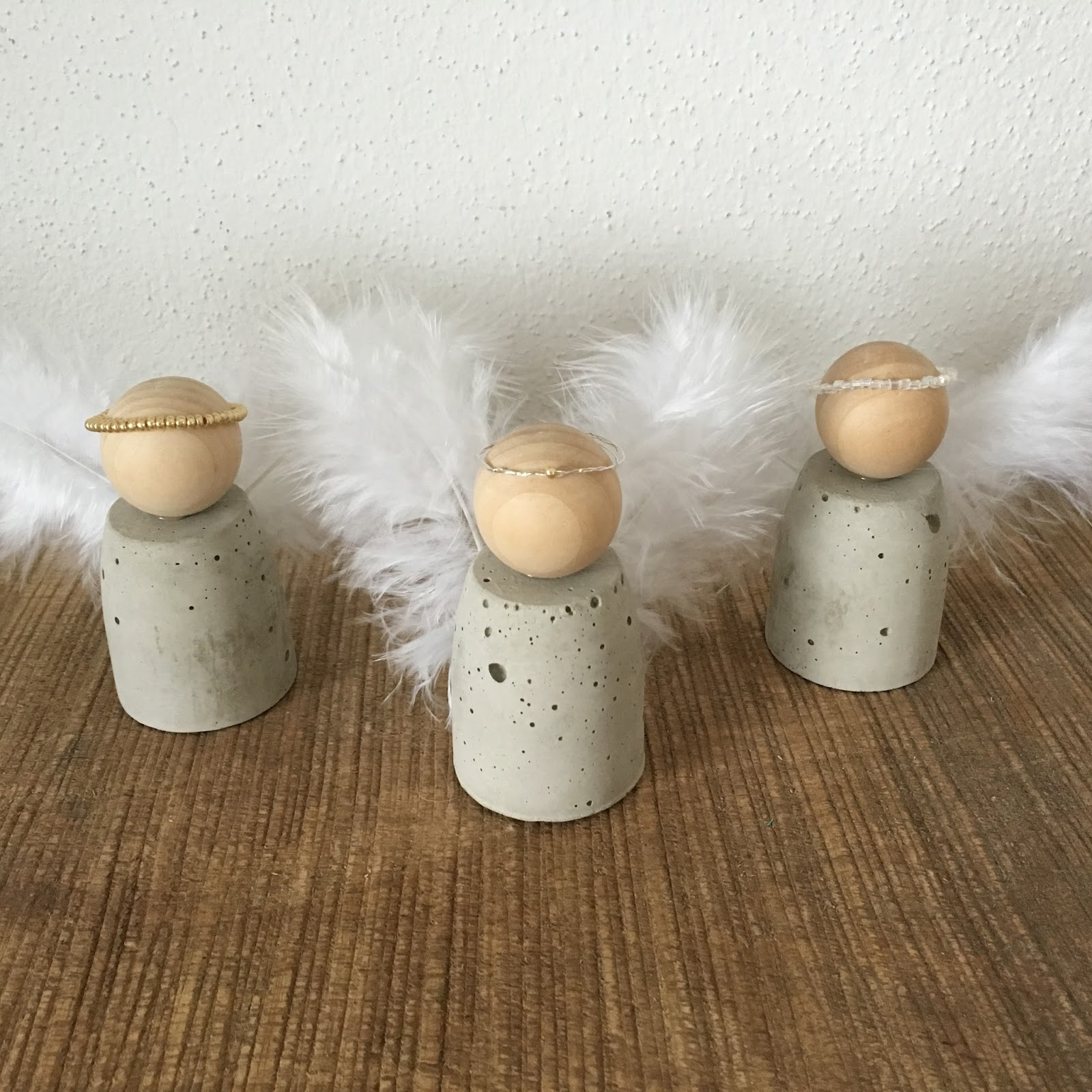 DIY Engel aus Beton