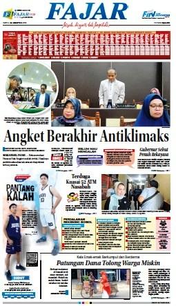 DOWNLOAD Epaper Harian Fajar edisi Sabtu, 24 Agustus 2019