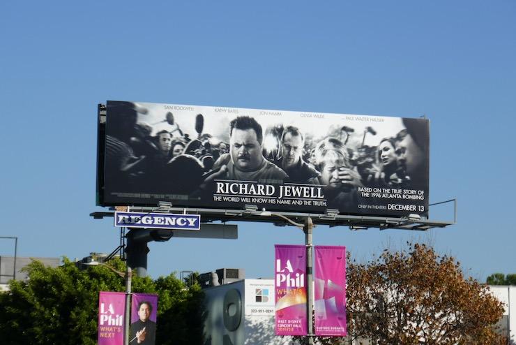 Richard Jewell movie billboard