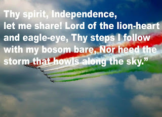Happy Independence day pictures with quotes on it