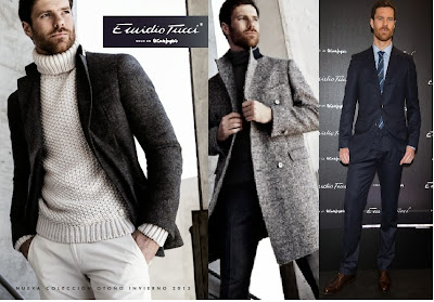 Xabi Alonso, Emidio Tucci, El Corte Inglés, Black Collection, Real Madrid,