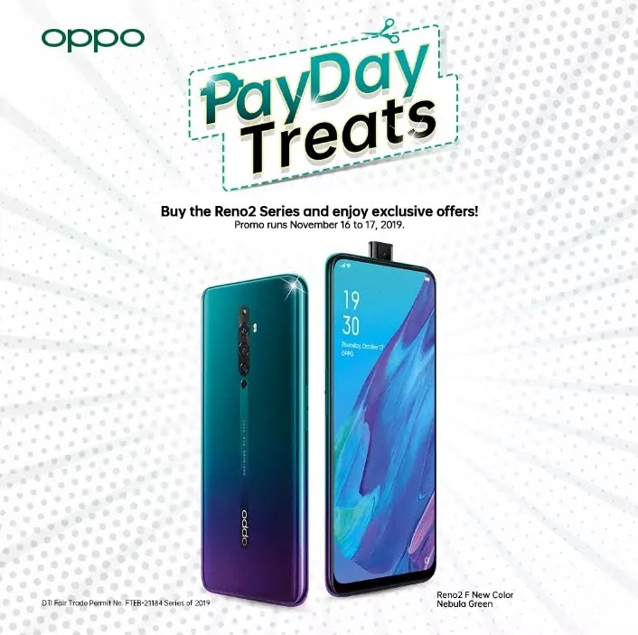 OPPO Pay Day Treats Promo