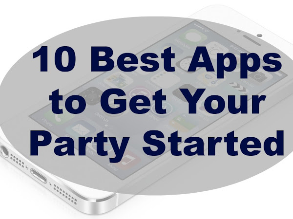 10 Best // Party Apps for Your Phone