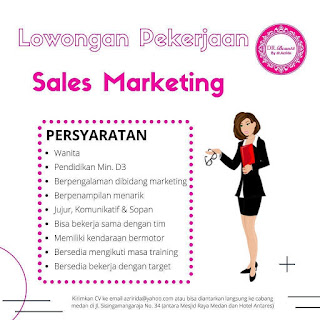 Sales Marketing Dr Beaute by dr azrida