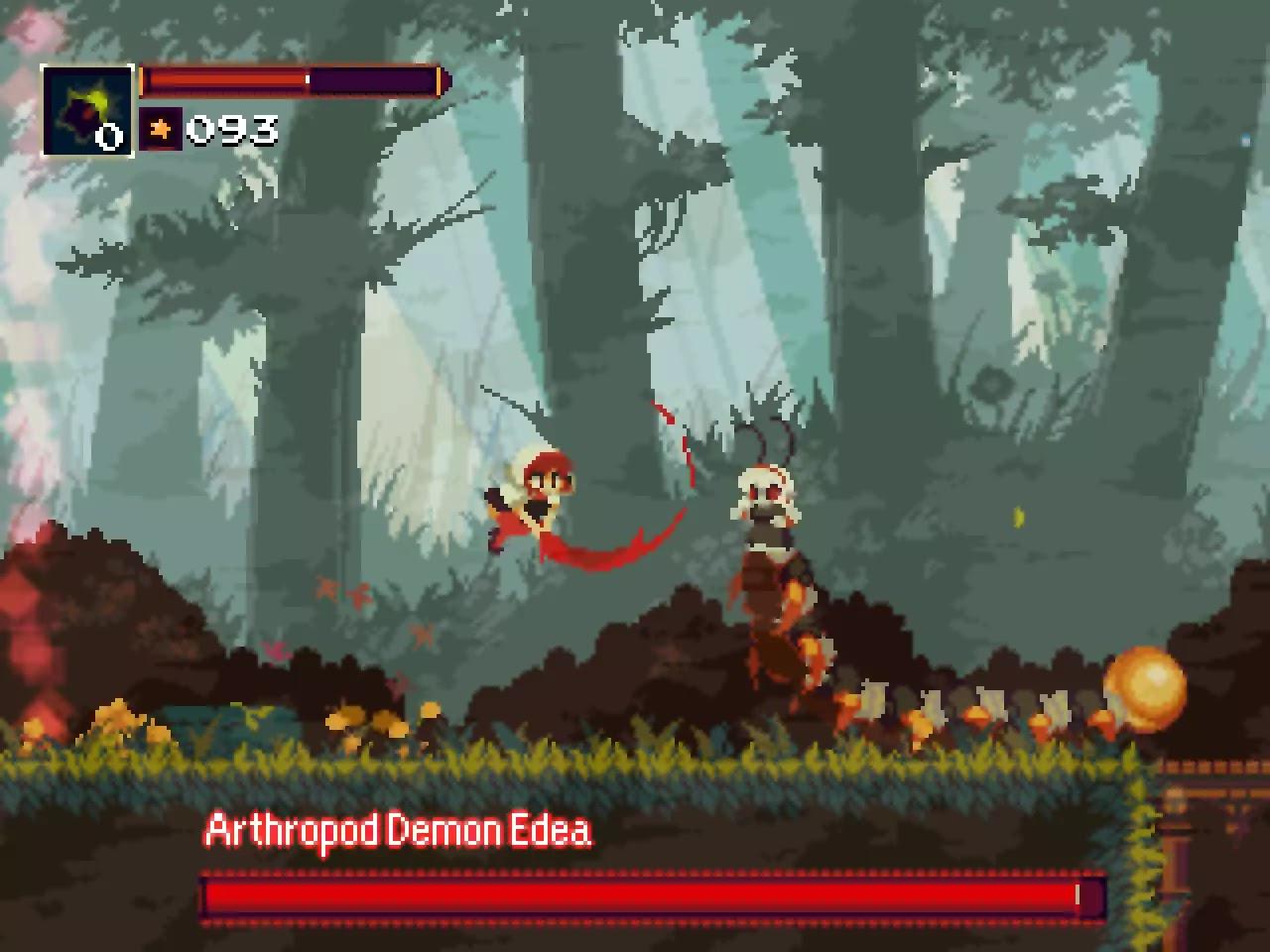 Momodora Reverie Under the Moonlight game screenshots