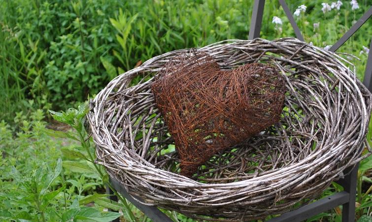 Draht Gartendeko selbermachen