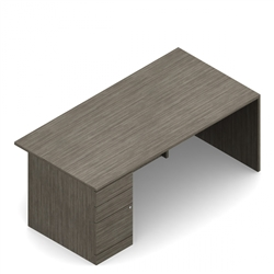 Gray Office Desk