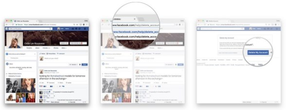 how to discontinue my facebook page