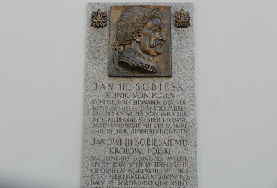 Król Jan II Sobieski na wzgórzu Kahlenberg