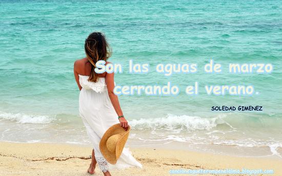 Canciones de Marzo, SOLEDAD GIMENEZ, Verano, Primavera, Canciones Viejas pero bonitas, Canciones de Amor,