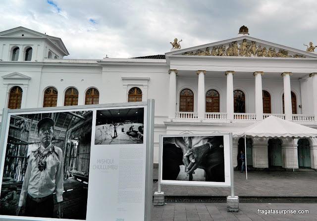 Teatro Nacional Sucre, em Quito