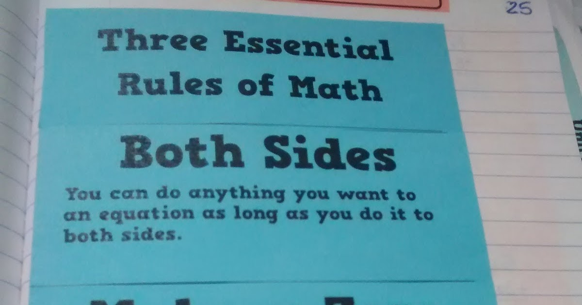 Math = Love: Solving Equations using the Three Essential Rules of ...