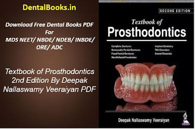 Textbook of Prosthodontics 2nd Edition By Deepak Nallaswamy Veeraiyan PDF DOWNLOAD