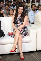 Kyra Dutta in a Deep neck Small Dress at Shamanthakamani pre release function ~  Exclusive 029.JPG