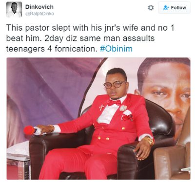 , Shocking: Pastor Who flogged Members for formication was caught committing Adultery, Latest Nigeria News, Daily Devotionals & Celebrity Gossips - Chidispalace