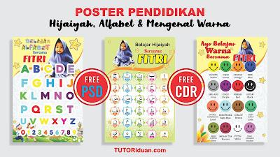 Desain Poster Pendidikan CDR